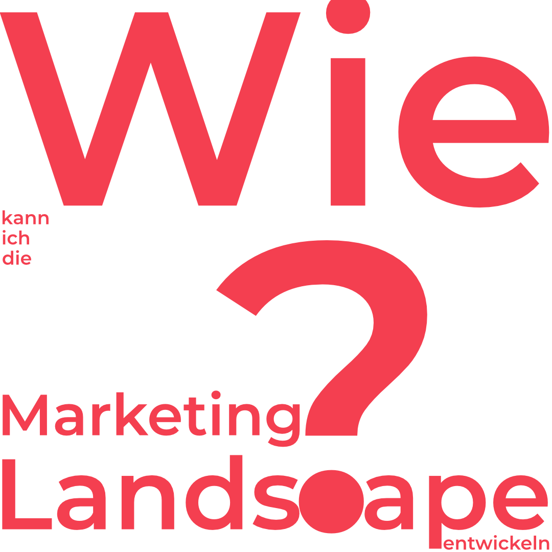 Wie kann ich die Marketing Landscape entwickeln?